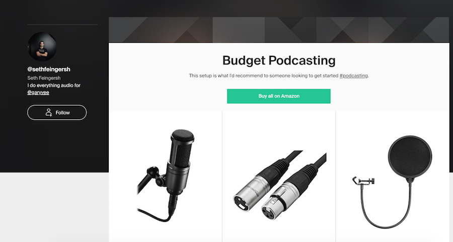Budget Podcasting