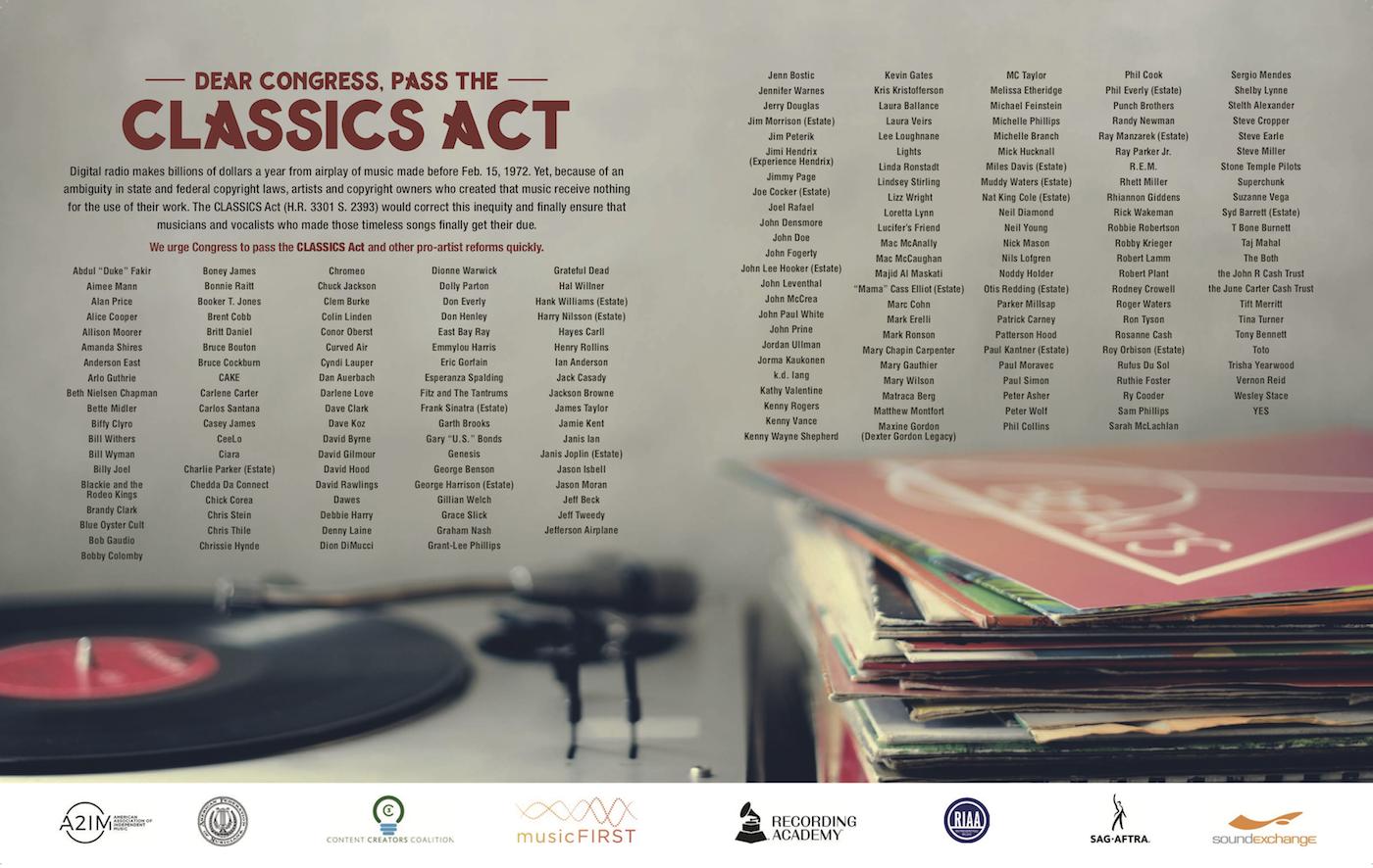 CLASSICS Ad