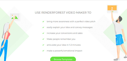 Reasons to use renderforest.com